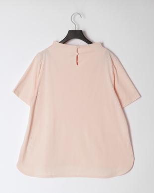 ピンク [消臭]ボトルネックTシャツを見る