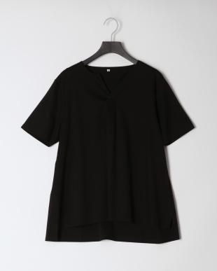 ブラック&ブラウン [2枚組・接触冷感]シルケットスムースTシャツセットを見る