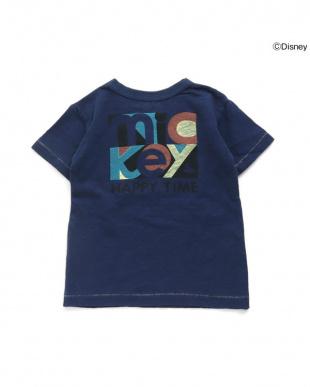ブルー ディズニーキャラクター Tシャツを見る