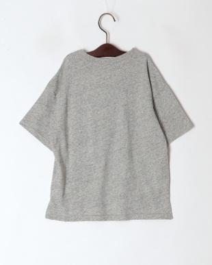 グレー デニムポケットTシャツを見る