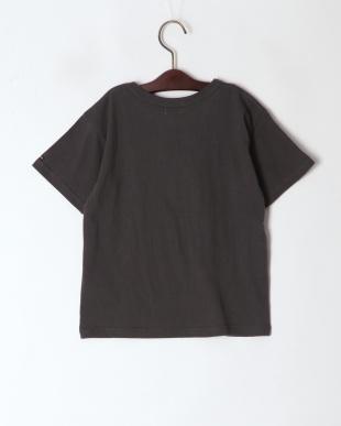 チャコール アップリケTシャツを見る