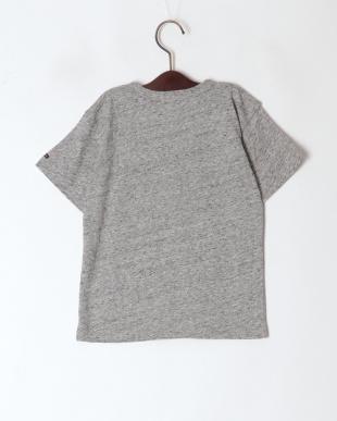 グレー アップリケTシャツを見る