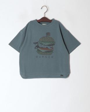 ブルー ジャンクフードTシャツを見る