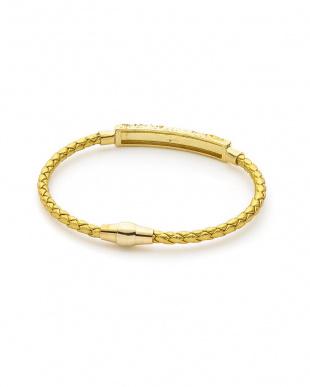 ゴールド/ゴールド/ホワイトキュービックジルコニア キュービックジルコニア マグネットタイプ ブレスレットを見る