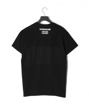 ブラック BLACK BOX BLUEプリント 半袖Tシャツを見る