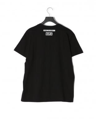 ブラック EVILプリント半袖Tシャツを見る