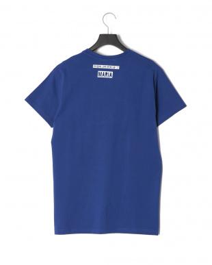 ブルー HANDCUFFSプリント半袖Tシャツを見る