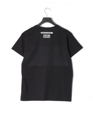 ブラック NAVY DOUBLE INVERSE…プリント 半袖Tシャツを見る