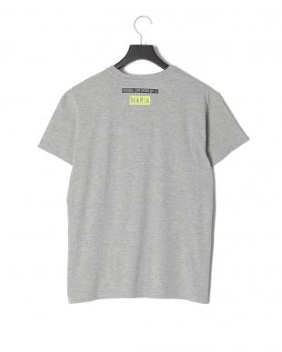 グレー POLICEプリント半袖Tシャツを見る