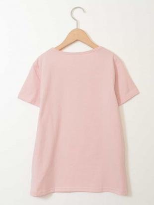 ピンク [160]ビニールアップリケTシャツ[WEB限定サイズ] a.v.v bout de chouを見る