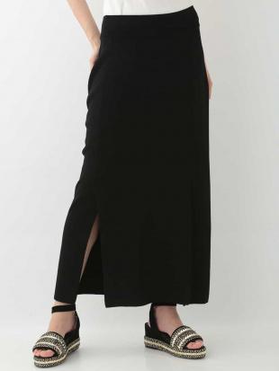 ブラック リブタイトスカート HIROKO KOSHINOを見る