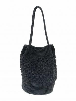 シルバー 編みデザインバケツトート MK MICHEL KLEIN BAGを見る
