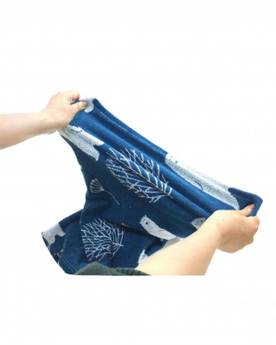 オルソビアンコ×ネイビー 塩まくら 伸びる枕カバー付きを見る