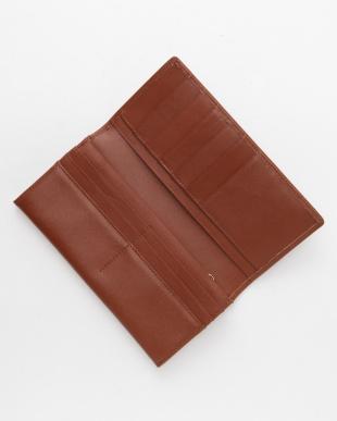 ブラウン フランコフェラーロ牛革長財布を見る