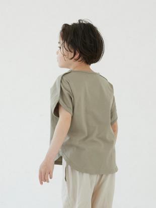 MOCA ピュアコットンオーバーサイズフレンチスリーブTシャツを見る