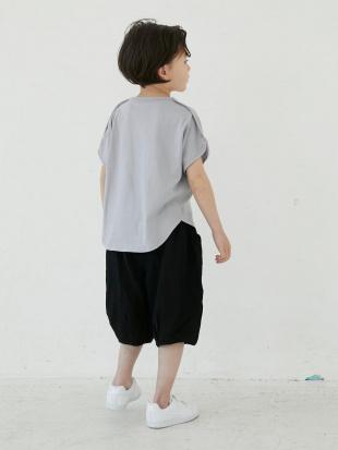 GRAY ピュアコットンオーバーサイズフレンチスリーブTシャツを見る