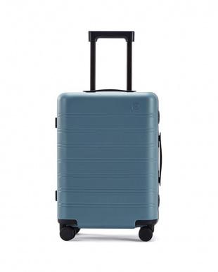 Grey x Blue NINETYGO Manhattan luggage 20