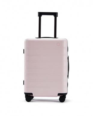 Pink x Red NINETYGO Manhattan luggage 20