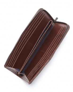 チョコ ロディレザー L字ファスナー長財布を見る