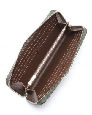 グリーン ギルド ブライドルレザー ラウンド長財布を見る