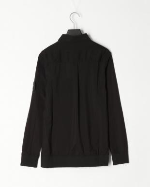 ブラック ストレッチリブ 長袖シャツを見る