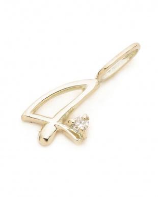 イエロー K18 ダイヤモンド ペンダントトップを見る