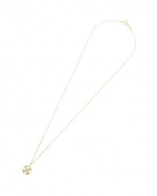 イエローゴールド K18YG アコヤパール×ダイヤモンド 0.05ct デザインネックレスを見る