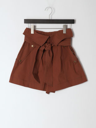 042 Lucie High Waisted Shorts BRWを見る