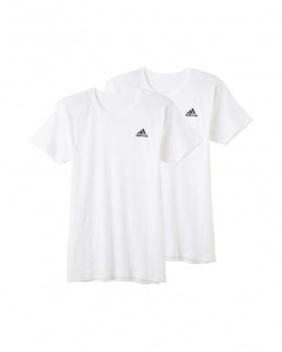 ホワイト Tシャツ×2枚組 3SETを見る
