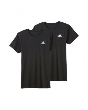 ブラック Tシャツ×2枚組 3SETを見る