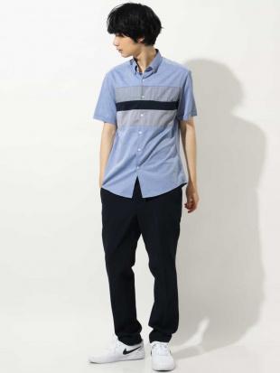ブルー パネルキリカエシャツ[WEB限定サイズ] a.v.v HOMMEを見る