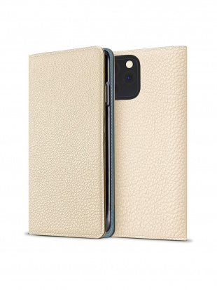 アイボリー × シアン ダイアリーケース (iPhone 11 Pro)を見る