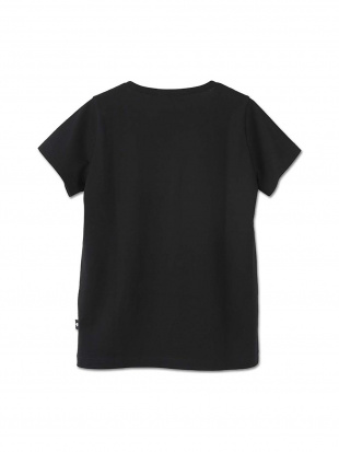 ブラック シンプルデイジーロゴ Tシャツ(ブラック)を見る