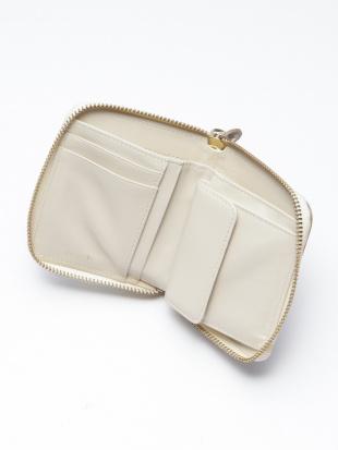 アイボリー ラウンドミニ財布を見る
