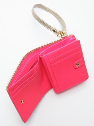 ピンク KUBERA Lf-wallet small (champagne gold non-woven)を見る