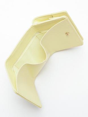 ライト イエロー KUBERA tri fold wallet [pale tone rubber]を見る