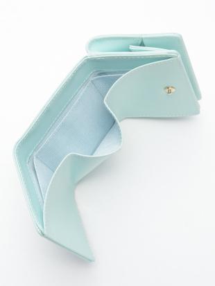 ライトブルー KUBERA tri fold wallet [pale tone rubber]を見る
