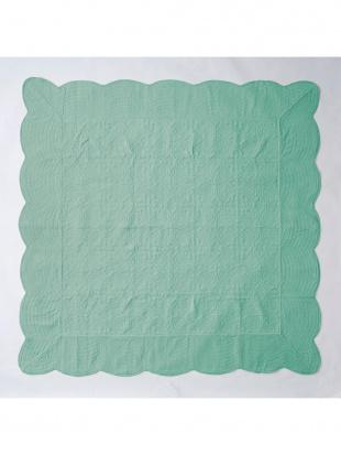 ターコイズ タオル素材でさらさら綿パイルマルチカバー 190×190cm ターコイズを見る