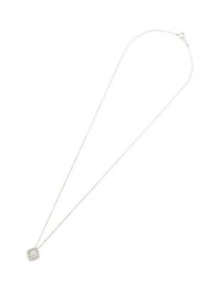ホワイトゴールド K18WG ダイヤモンド 0.15ct モチーフネックレスを見る
