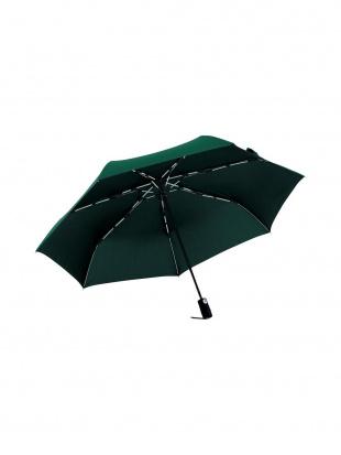 ディープグリーン 高強度折りたたみ傘ストレングスミニAUTO(白骨)を見る