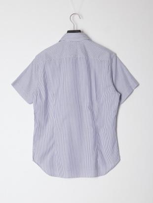 紺系柄物 ドレスシャツを見る