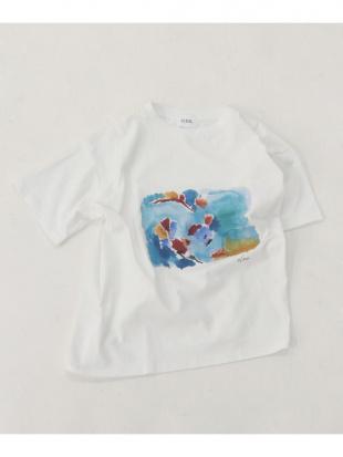 オフA ウォーターペイントTシャツを見る