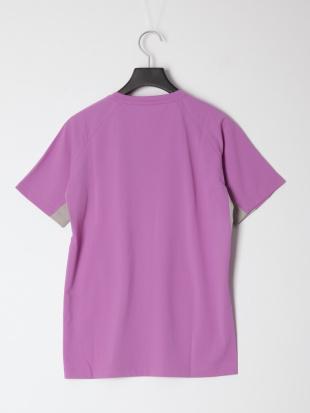 ピンク/グレー トリプルDRYカラットLW半袖Tウィメンズを見る