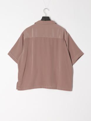 モカ ビッグポケットステッチシャツを見る