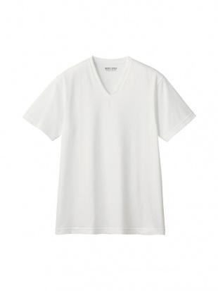 ホワイト VネックTシャツ×3SETを見る