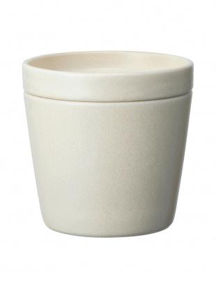 アイボリー セラミックカップ&プレート 2個セットを見る