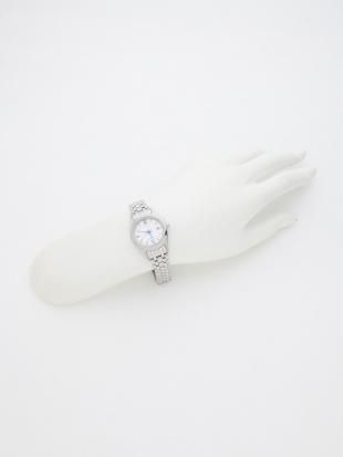白 シチズン エクシード エコ・ドライブ 光発電腕時計 チタンを見る
