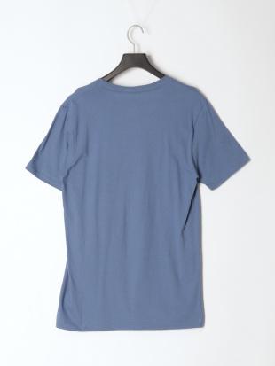 ブルー HIBISCUS TEE ロゴプリント Tシャツを見る