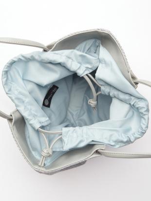 ライトブル-*ベビーブルー かごハンドバッグを見る