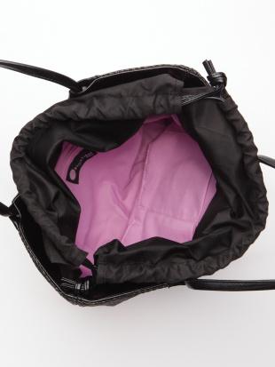 ブラック*ブラック かごハンドバッグを見る
